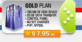 Gold Hosting Plan